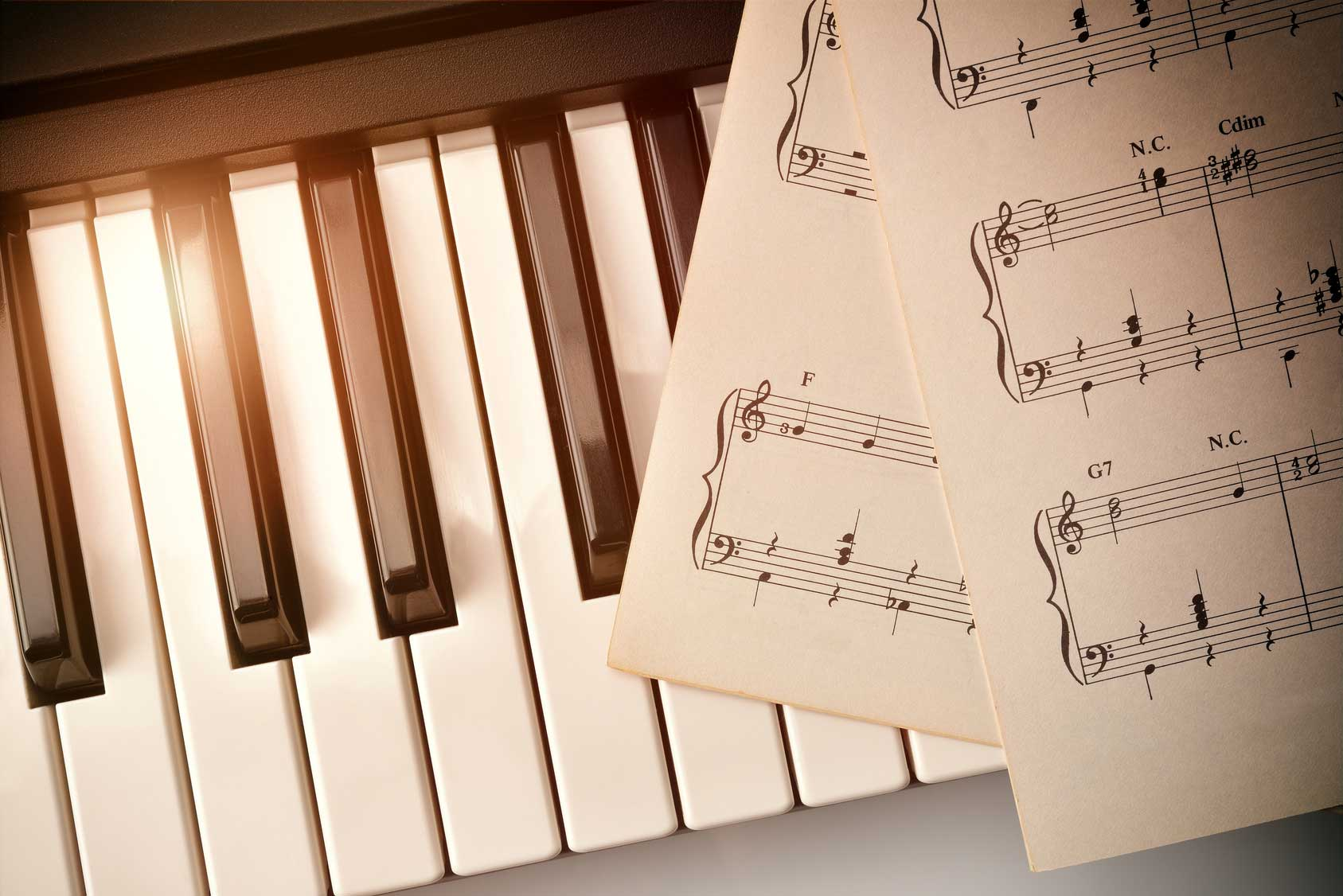 Easy Piano Sheet Music For Beginners The One Smart Piano